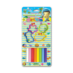 Ảnh số 6: Đất sét nặn SmileKids 8 màu SK-800MA  8 màu sắc 4 khuôn mẫu Xuất xứ Thái lan, 3 tuổi + Giá bán: 26.500 VNĐ - Giá: 27.000