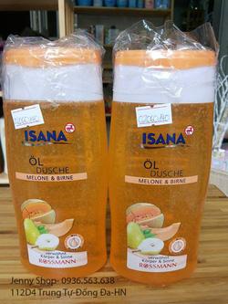 Ảnh số 21: Sữa tắm ISANA.Sữa tắm hoa quả.14Ok.250ml - Giá: 140.000