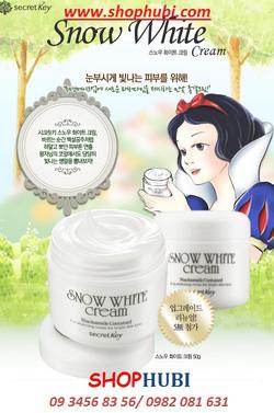 Ảnh số 5: Kem làm trắng đa tác dụng Snow White all in one Secretkey Hàn Quốc - Giá: 370.000