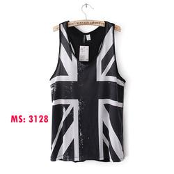 Ảnh số 59: Áo ba lỗ H&M hình học Mã số:3128 - Giá: 180.000