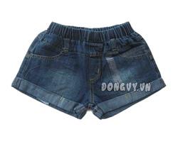 Ảnh số 2: Quần sọt jeans Zara lật lai (9-12) - Giá: 105.000