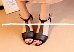 Ảnh số 38: Giày sandals hở mũi 5cm - Giá: 230.000