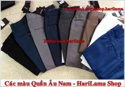 Ảnh số 61: Các màu Quần ÂU Harilama shop - 0935.137.179 - Giá: 123.456.789