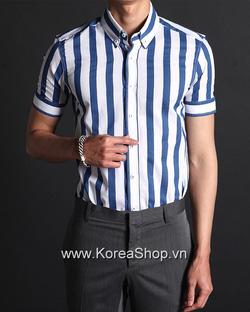 Ảnh số 5: Áo sơ mi Nam Hàn Quốc 14088 - Giá: 1.180.000