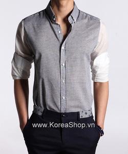Ảnh số 7: Áo sơ mi Nam Hàn Quốc 14086 - Giá: 1.000.000