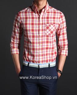 Ảnh số 42: Áo sơ mi Nam Hàn Quốc 14218 - Giá: 1.090.000