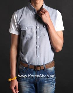 Ảnh số 34: Áo sơ mi Nam Hàn Quốc 14226 - Giá: 850.000