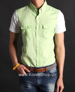Ảnh số 39: Áo sơ mi Nam Hàn Quốc 14221 - Giá: 850.000