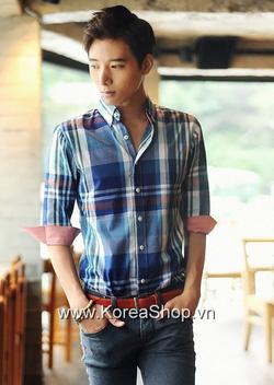 Ảnh số 61: Áo sơ mi Nam Hàn Quốc P130729004280 - Giá: 870.000