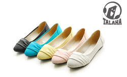 Ảnh số 5: Giày búp bê mũi cách điệu B003 - Giá: 250.000
