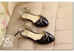 Ảnh số 13: Giày búp bê nơ xích B040 - Giá: 220.000