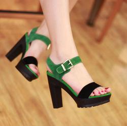 Ảnh số 74: Giày cao gót  model 2013 -GCG074 - Giá: 500.000