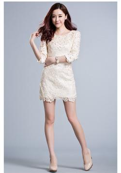 Ảnh số 39: váy ren sò - Giá: 650.000