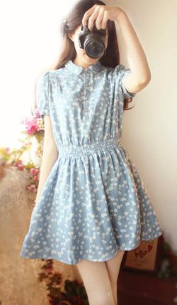 Ảnh số 50: Váy denim vintage - Giá: 280.000