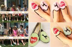 Ảnh số 32: Giày Vans Love phong c&aacutech Suzy- 200k giảm còn 100k - Giá: 50.000