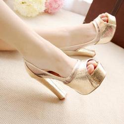 Ảnh số 22: Giày trong suốt GCG022-11cm, đế 4cm - Giá: 400.000