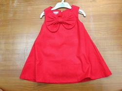 Ảnh số 93: váy 1984 mouse, đính nơ, sát nách, màu đỏ tươi. - Giá: 25.000