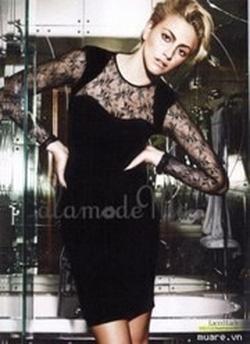 Ảnh số 19: váy nhung fa ren - Giá: 350.000