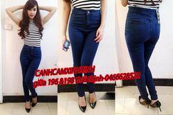 Ảnh số 58: a58 quần jeans cạp cao 290k - Giá: 290.000