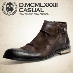 Ảnh số 12: Giày da bò phong cách vintage Herilios GN012 - Giá: 1.500.000