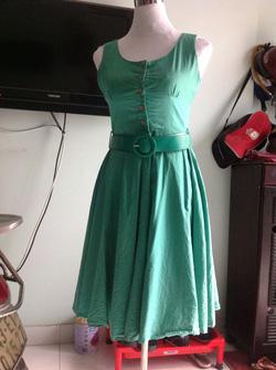 Ảnh số 21: Đầm xanh dạo phố - Giá: 90.000