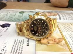 Ảnh số 36: Đồng hồ Rolex dây sắt vàng - Giá: 1.800.000
