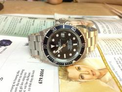Ảnh số 38: Đồng hồ Rolex mặt đen - Giá: 1.080.000