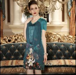 Ảnh số 78: Váy lụa dự tiệc LADYROY- 5714 - Giá: 500.000