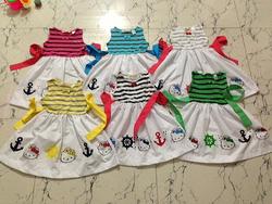 Ảnh số 11: Đầm Hello Kitty s&aacutet n&aacutech.Ri 6 c&aacutei 2-7T. - Giá: 55.000