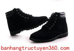 Ảnh số 22: Giày da lộn (ms 22) lót lông +50k ( 2 màu đen,nâu) - Giá: 400.000