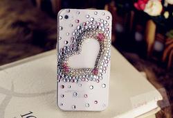 Ảnh số 39: Trái tim nhiều màu (Iphone 4: 250k; Iphone 5: 270k) - Giá: 250.000