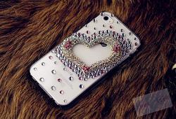 Ảnh số 41: Trái tim nhiều màu (Iphone 4: 250k; Iphone 5: 270k) - Giá: 250.000