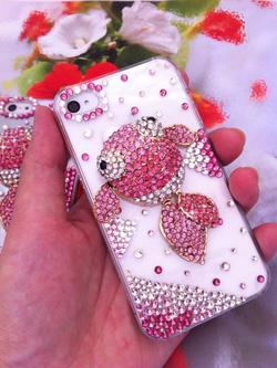 Ảnh số 71: Ốp cá hồng đá  Iphone 4: 320k. Iphone 5: 350k - Giá: 320.000