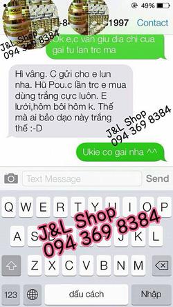 Ảnh số 68: feedback và tin nhắn đặt hàng của khách - Giá: 1.000