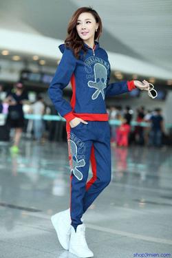 Ảnh số 84: Bộ đồ thu đông Hàn quốc 2015: BDD084 - Giá: 850.000