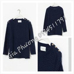 Ảnh số 4: Knit zara xanh than đậm - Giá: 890.000