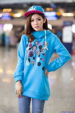 Ảnh số 83: Áo khoác nữ Hàn Quốc 2014: AK3008 - Giá: 600.000
