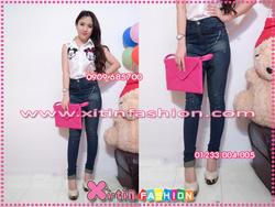 Ảnh số 15: D1250.Jeans 1 nút phun sơn(S,M)-->320,000 VNĐ - Giá: 320.000