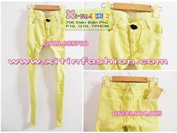 Ảnh số 22: D867.Jeans xanh môi (Size M)-->255,000 VNĐ - Giá: 255.000