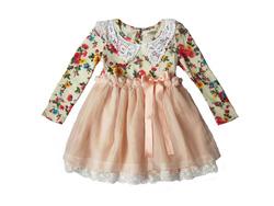 Ảnh số 4: Váy voan hoa thân trên cổ ren- VA1065 - Giá: 425.000