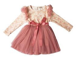 Ảnh số 9: Váy ren hoa hồng dài tay- VA008 - Giá: 450.000
