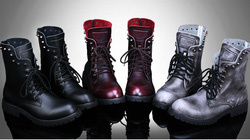 Ảnh số 69: Boot nam 69 (đen, đỏ, quế) - Giá: 800.000