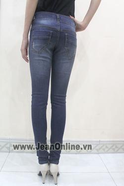 Ảnh số 52: Skinny Mango rách 2 nút - M2428. Size 26, 27, 28, 29 - Giá: 265.000