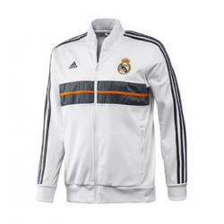 Ảnh số 10: Áo khoác nam thể thao Real Madrid trắng - Giá: 190.000