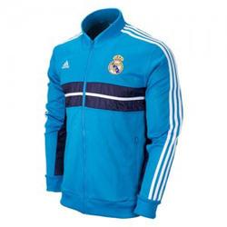 Ảnh số 11: Áo khoác nam thể thao Real Madrid xanh da trời - Giá: 190.000