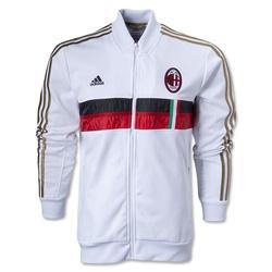 Ảnh số 18: Áo khoác nam thể thao AC Milan trắng đỏ - Giá: 190.000
