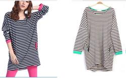 Ảnh số 59: áo váy cotton - Giá: 210.000