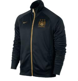 Ảnh số 28: áo khoác bóng đá manchester city đen - Giá: 190.000