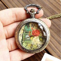 Ảnh số 36: DCDH 135_Đồng hồ quả quýt Tháp Bigbang (ĐK; 5cm) - Giá: 120.000