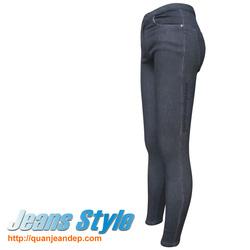 Ảnh số 97: Quần jean nữ cạp cao skinny 2347-1 - Giá: 370.000
